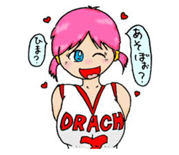 Ai-chan, Women's basketball entrance sticker #14002303