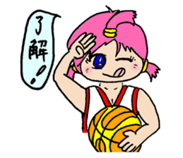 Ai-chan, Women's basketball entrance sticker #14002306