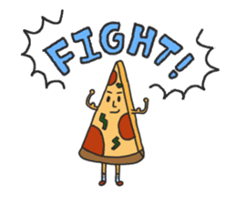 Pizza xi and French fries xi sticker #14004577
