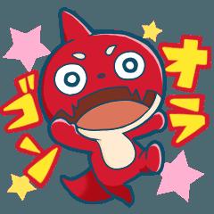 สติ๊กเกอร์ไลน์ Oragon (Monster Strike Anime)