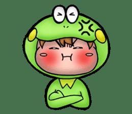 Mog the Frog Boy sticker #14008033