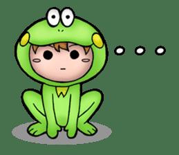 Mog the Frog Boy sticker #14008034