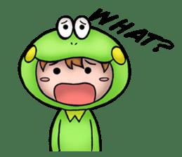 Mog the Frog Boy sticker #14008035