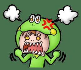 Mog the Frog Boy sticker #14008036