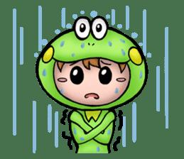 Mog the Frog Boy sticker #14008040