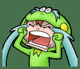 Mog the Frog Boy sticker #14008043