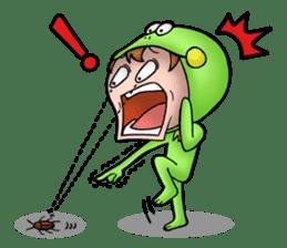 Mog the Frog Boy sticker #14008045