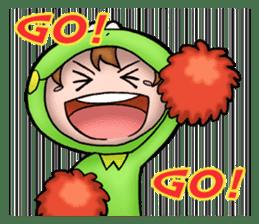 Mog the Frog Boy sticker #14008049