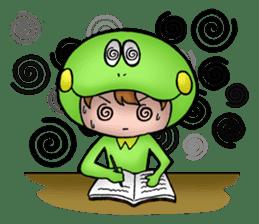 Mog the Frog Boy sticker #14008050