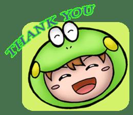 Mog the Frog Boy sticker #14008057
