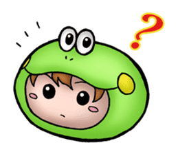 Mog the Frog Boy sticker #14008058