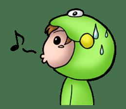 Mog the Frog Boy sticker #14008059