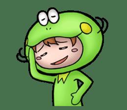 Mog the Frog Boy sticker #14008060