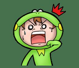 Mog the Frog Boy sticker #14008064