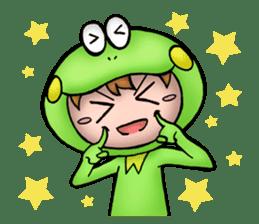Mog the Frog Boy sticker #14008065