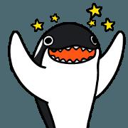 สติ๊กเกอร์ไลน์ Orca Orca !