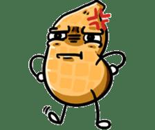 Si Kacang sticker #14012427