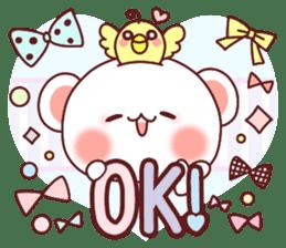 Fluffy Bear Sweet 40set sticker #14014151