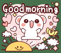 Fluffy Bear Sweet 40set sticker #14014154