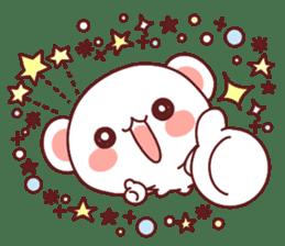 Fluffy Bear Sweet 40set sticker #14014162