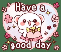 Fluffy Bear Sweet 40set sticker #14014169