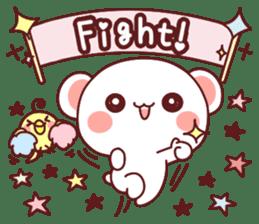 Fluffy Bear Sweet 40set sticker #14014170