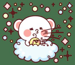 Fluffy Bear Sweet 40set sticker #14014173