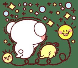 Fluffy Bear Sweet 40set sticker #14014174