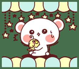 Fluffy Bear Sweet 40set sticker #14014177