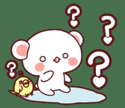Fluffy Bear Sweet 40set sticker #14014178