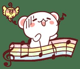 Fluffy Bear Sweet 40set sticker #14014179