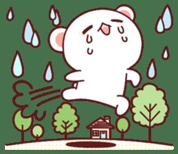 Fluffy Bear Sweet 40set sticker #14014182