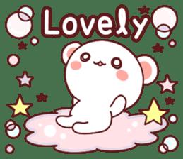 Fluffy Bear Sweet 40set sticker #14014184