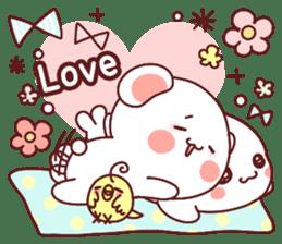 Fluffy Bear Sweet 40set sticker #14014185