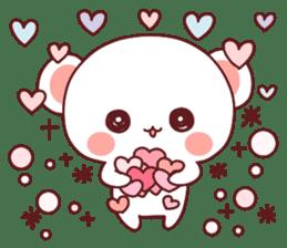 Fluffy Bear Sweet 40set sticker #14014186