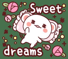 Fluffy Bear Sweet 40set sticker #14014188