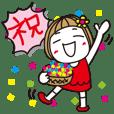 ▶︎動く!はな子。《誕生日他イベント編》 | LINE STORE