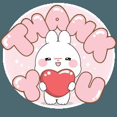 ต่ายบิวตี้ : อักษรยักษ์