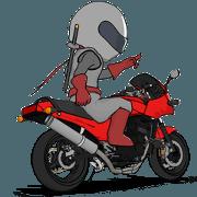 สติ๊กเกอร์ไลน์ Rider ninja animation2