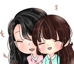 Sora & Yuri - wonderful days sticker #14036418