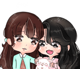 Sora & Yuri - wonderful days sticker #14036419