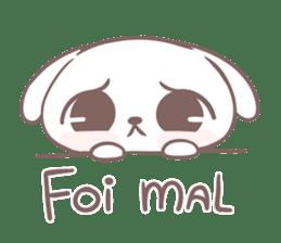 Marshmallow Puppies (PT-BR) sticker #14048386