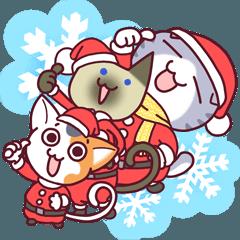 Nyagoes in Christmas