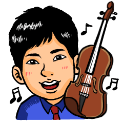 Violinist Syuga