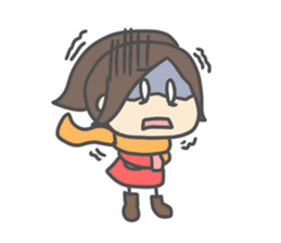 Chibi Airin4 ~16-17 Winter ver.~ sticker #14065219