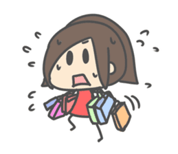 Chibi Airin4 ~16-17 Winter ver.~ sticker #14065221