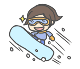 Chibi Airin4 ~16-17 Winter ver.~ sticker #14065223