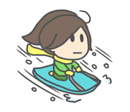 Chibi Airin4 ~16-17 Winter ver.~ sticker #14065224