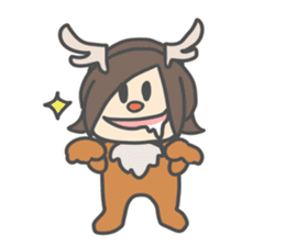 Chibi Airin4 ~16-17 Winter ver.~ sticker #14065229