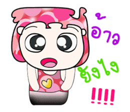 Hello!! my name is Yagami. ^__^ sticker #14071029